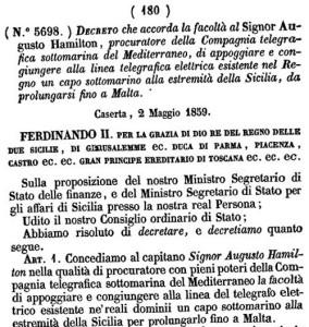 Decreto-Telegrafo-sottomarino-Sicilia-Malta-284x300
