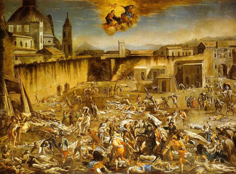 Micco_Spadaro_-_Largo_Mercatello_durante_la_peste_a_Napoli_(1656)